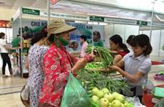 Phiên chợ nông sản an toàn: Xây dựng niềm tin cho người tiêu dùng