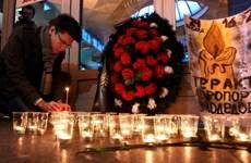 Tòa án Nga kết án 4 kẻ liên quan vụ đánh bom sân bay