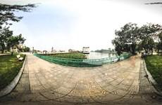 [Hình ảnh 360 độ] Vườn hoa Hồ Tây ở Hà Nội