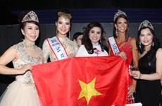 Hoa hậu Quý bà Việt Nam dừng ở tốp 6 Mrs World 2013