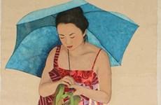 """Nữ nghệ sỹ Italy vén """"bức màn"""" về Việt Nam qua tranh giấy dó"""