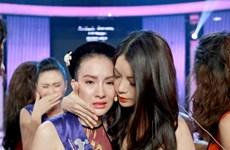 """Liveshow 6 Hoa khôi Áo dài: Vũ Thị Ngọc bị loại vì """"đứng hình"""""""