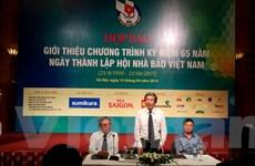 Hội Nhà báo Việt Nam kỷ niệm chặng đường 65 năm hào hùng