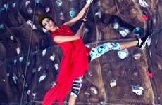 [Photo] Những pha treo vách núi ngoạn mục của thí sinh Next Top Model