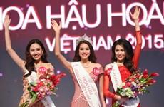 Nhan sắc đất cảng đăng quang Hoa hậu Hoàn vũ Việt Nam 2015