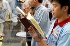 """Hội trại tập huấn Thanh niên Phật tử: """"Con đường sáng"""" cho giới trẻ"""