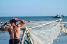"""[Photo] Theo chân ngư dân 80 tuổi có cơ bắp cuồn cuộn đi """"săn ruốc"""""""