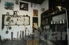 """[Photo] Độc đáo quán càphê """"phong cách"""" chiến tranh ở cố đô Huế"""