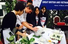 Lễ hội tôn vinh ẩm thực và đồ uống Vương quốc Anh quốc tại Việt Nam