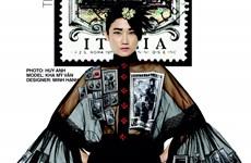 [Video] Lạ mắt họa tiết tem Italy trên mẫu của nhà thiết kế Minh Hạnh