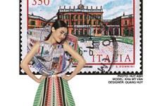 [Video] Độc đáo họa tiết tem Italy trên thiết kế của Quang Huy