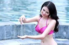 Ngắm đường cong gợi cảm của Miss Bikini Hoa hậu bản sắc Việt toàn cầu