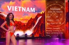 Nguyễn Thị Loan xuất sắc lọt top 20 Hoa hậu Hòa Bình Quốc tế 2016