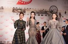 [Photo] Sao Việt rực rỡ trên thảm đỏ Liên hoan phim quốc tế Hà Nội