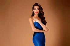 Á hậu Lệ Hằng gợi cảm trong thiết kế dạ hội ở Miss Universe 2016