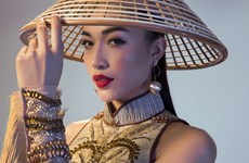 Ngắm trang phục dân tộc độc đáo của Lệ Hằng ở Miss Universe 2016