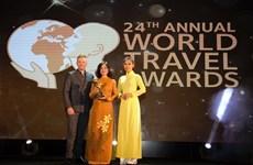 Vietravel được vinh danh Nhà điều hành tour hàng đầu thế giới