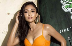 Mâu Thủy thắng giải Thí sinh có hình thể đẹp nhất Hoa hậu Hoàn vũ