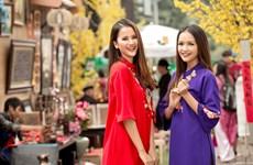 Quán quân Ngọc Châu, Hương Ly quyến rũ với áo dài 'Cô Ba Sài Gòn'