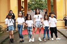 Show thời trang trẻ em theo phong cách Flashmob ngày cuối tuần