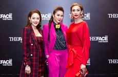 Các cố vấn The Face Việt Nam 2018 xuất hiện với thời trang 'chói lọi'