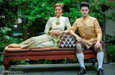 Khả Trang 'khác biệt' giữa dàn mẫu tại Super Model International