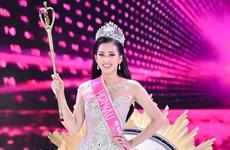"""Tân Hoa hậu Trần Tiểu Vy: """"Không quan tâm tới những thị phi"""""""