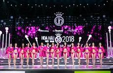 Ngắm top 15 thí sinh Hoa hậu Việt Nam 2018 thi bikini đêm chung kết