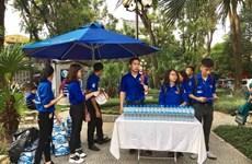 Hơn 1.000 đoàn viên thanh niên Thủ đô tham gia phục vụ Quốc tang