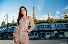 Phương Nga đang dẫn đầu bình chọn ảnh tại Miss Grand International