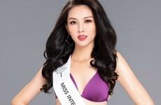 Đường cong nóng bỏng đại diện Việt Nam thi Miss International 2018