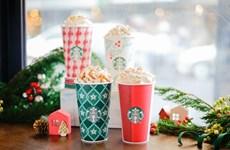 Starbucks ra mắt những thức uống đặc biệt dành riêng mùa Giáng sinh