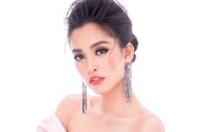 Miss World: Ngắm vẻ đẹp gợi cảm của Tiểu Vy trong trang phục dạ hội