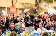[Photo] H'Hen Niê truyền cảm hứng 'sống xanh' tới giới trẻ Việt Nam