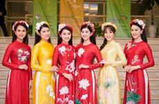 Á hậu Phương Nga cùng dàn người đẹp trình diễn bộ sưu tập 'Linh Sen'