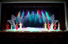 [Photo] 'Linh Sen': Bộ sưu tập áo dài truyền thống mừng sinh nhật Bác