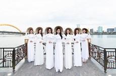 [Photo] Miss World Việt Nam: Thí sinh khoe dáng chuẩn trong tà áo dài