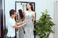 [Photo] Miss Grand International: Kiều Loan chọn váy dạ hội nào?
