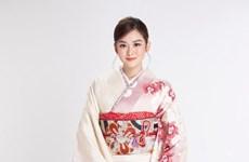 [Photo] Á hậu Tường San 'biến hình với 'vẻ đẹp Nhật' đầy ấn tượng