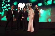 Việt Nam đoạt ''cú đúp'' giải thưởng tại World Golf Awards 2019