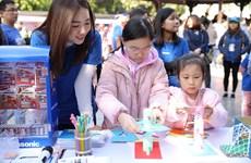 Người Hà Nội hưởng ứng tinh thần ''tránh lãng phí'' của Nhật Bản