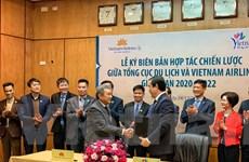 Tổng cục Du Lịch 'bắt tay' Vietnam Airlines quảng bá, xúc tiến du lịch