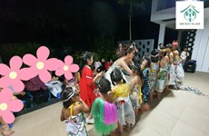Hoa hậu Khánh Vân trao 'vương miện' cho trẻ em bị lạm dụng