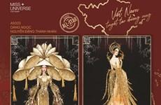 Miss Universe: Lộ diện top 8 trang phục dân tộc cho Khánh Vân
