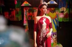 Hoa hậu Khánh Vân đồng hành cùng du lịch Việt quảng bá áo dài
