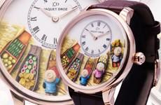 Thương hiệu đồng hồ lâu đời tại Thụy Sĩ tôn vinh vẻ đẹp Việt Nam