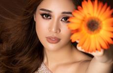 Hoa hậu Khánh Vân xuất hiện ấn tượng trên trang chủ Miss Universe