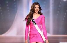 Khánh Vân ngậm ngùi dừng chân ở top 21 chung cuộc Miss Universe