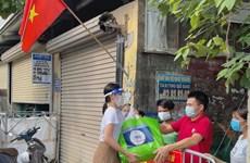 Hoa hậu Đỗ Thị Hà, Tiểu Vy tiếp sức cho tuyến đầu chống dịch