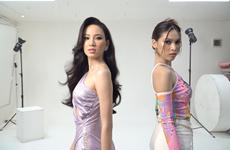 Ái Nhi tích cực tập luyện ngay trước thềm thi Miss Intercontinental